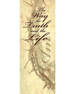 I Am The Way, The Truth, The Life Church Banner