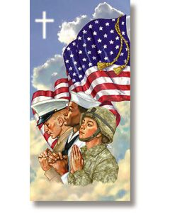 God Bless America Holiday Banner