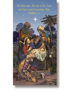 Wise Men Holiday Banner