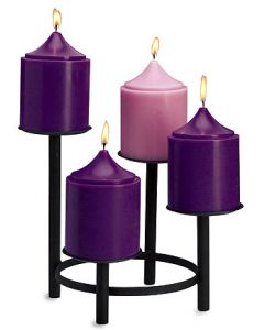 Advent Church Set Votive Candles