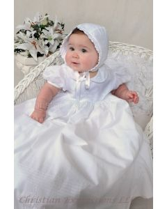 Siobhan Irish Shamrock Christening Gown