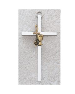 SILVER PLATED ALUMINUM Communion CROSS