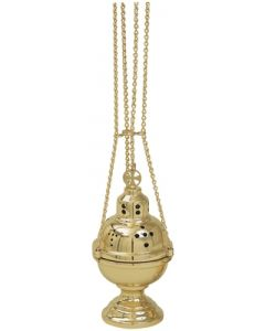 4 Chain Church Censer and Boat