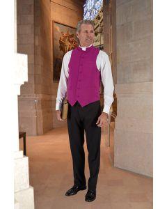 Roman Purple Clergy Vest