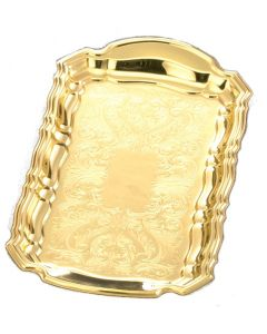 Cruet Tray Gold Plated