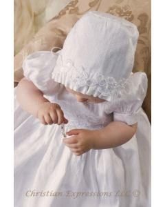 Hailey Silk Christening Gown