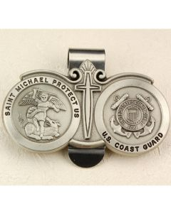 Coast Guard Visor Clip
