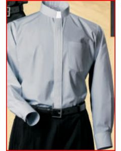 Clerical Shirt -EXTRA COMFORT - Long Sleeve