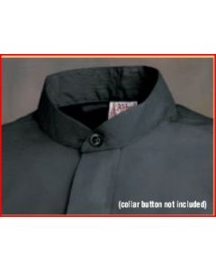Clerical Shirt - EXTRA COMFORT - Tabless Neckband LONG SLEEVE