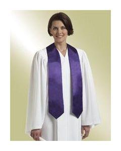 Choir Stole - Purple