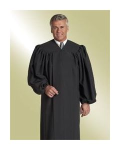 Black Baptismal Robe for Pastor