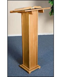 Church Altar Lectern in Pecan