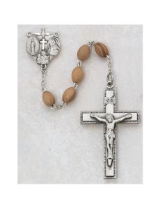 Men's OLIVE WOOD ROSARY BEADS