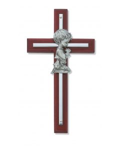 Cherry Wood Boy Cross