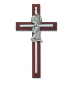 Cherry Wood Girl Cross