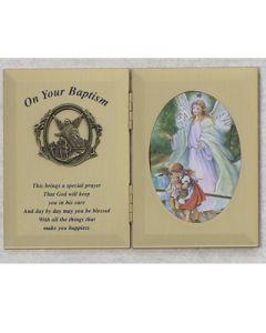 DOUBLE BAPTISM PHOTO PLAQUE