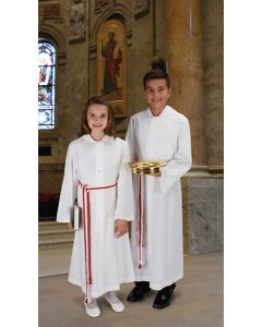 Monastic  Altar Server Alb - With Hood
