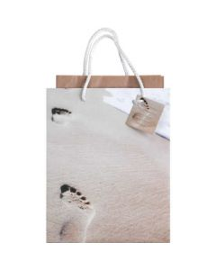 GIFTBAG MED FOOTPRINTS