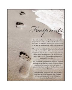 PLAQUE MDF FOOTPRINTS