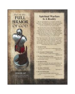 PLAQUE MDF FULL ARMOR OF GOD