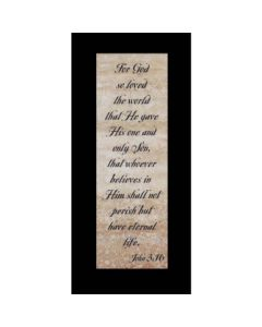 BKM PKG PAPER JOHN 3:16