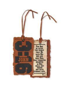 BKM SUEDE JOHN 3:16