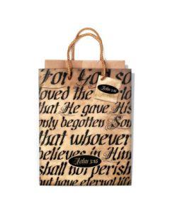 GIFTBAG SML JOHN 3:16
