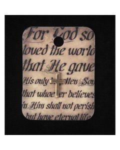 LPL PIN AG CROSS-JOHN 3:16