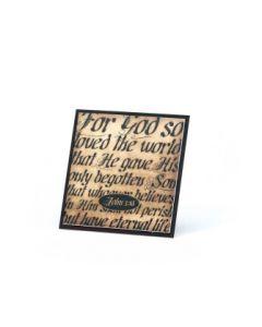 MAGNET EASEL JOHN 3:16