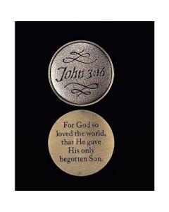 PKT STN JOHN 3:16