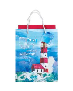 GIFTBAG SML LIGHTHOUSE