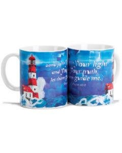 MUG CHINA LIGHTHOUSE