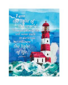 PLAQUE MDF LIGHTHOUSE
