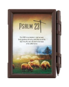 STAT PHOTO MEMO PAD PSALM 23