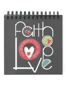 JOURNAL 7 X 7 FAITH,HOPE,LOVE