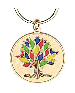 Tree of Life Key Ring