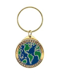 Let There Be Peace On Earth Key Ring