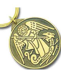 St Michael Key Ring