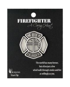 VISOR CLIP-FIREFIGHTER