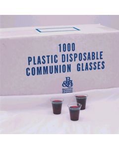 Communion Glasses PLT Box 1000