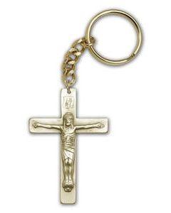 Crucifix Keychain