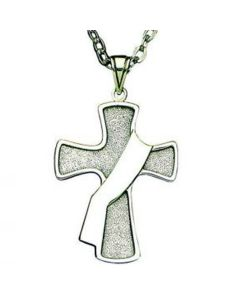 Deacon's Cross Pendant - Sterling Silver