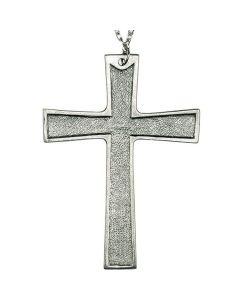 Pewter Pectoral Cross Pendant