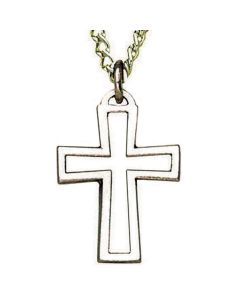 Open Cross Church Pendant