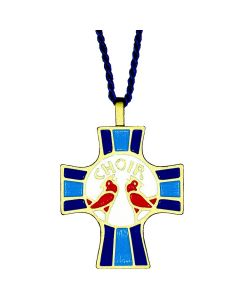 Choir Members Cross Pendant