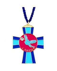Cantor Cross Church Pendant