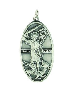 St Michael Antique Church Pendant