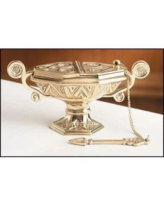 Church Incense Burner Boat and Spoon