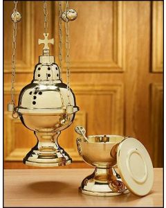 Eastern Rite Censer with 12 Bells and Boat Set