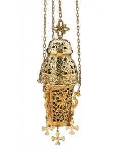 Ornate Hanging Incense Burner